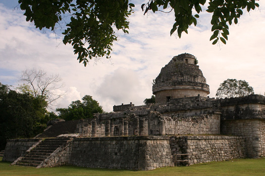 El Caracol, the astronomy building of the ancient Maya in Chichén Itzá